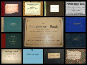 Punishment book collage